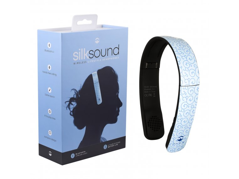 SilkSound Stylish Bluetooth Headphones by Paww - 16