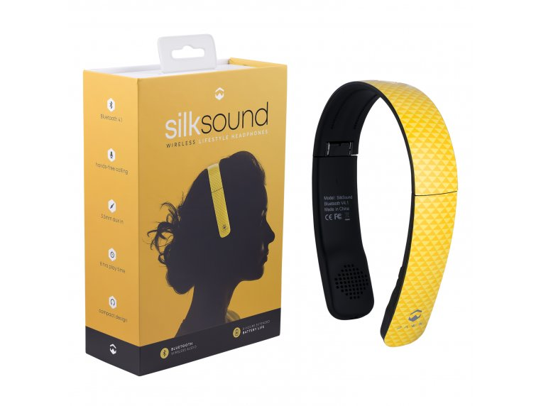 SilkSound Stylish Bluetooth Headphones by Paww - 20