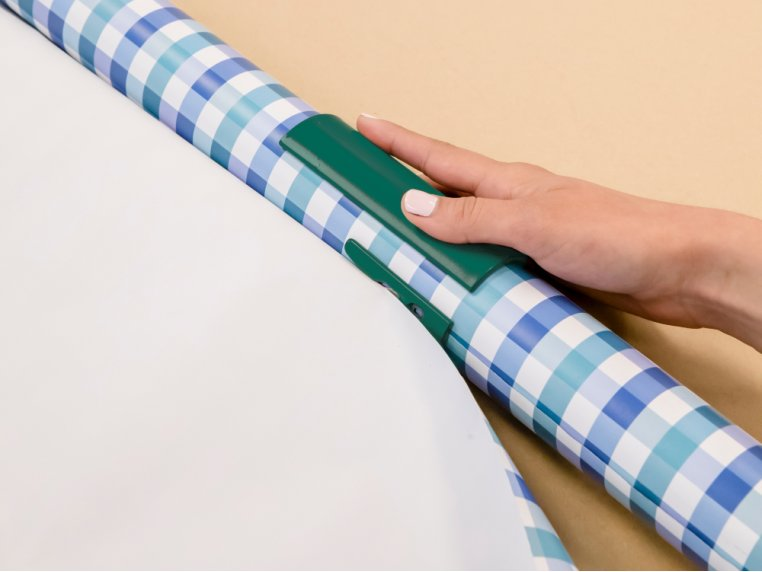 Sliding Wrapping Paper Cutter - 2 Pack by Little ELF - 2