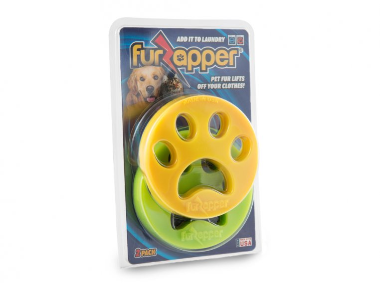 Pet Hair Remover for Laundry - 2-Pack by FurZapper - 4