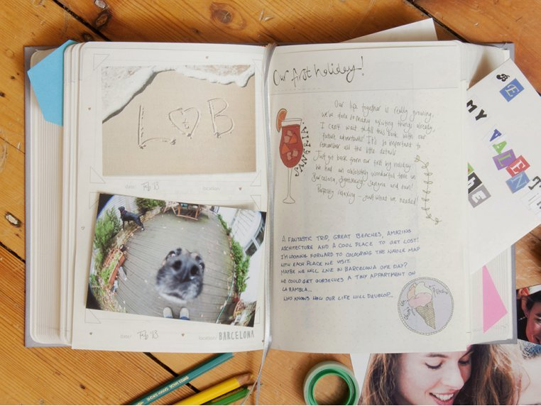 Life Story Personal Journal by Suck UK - 1