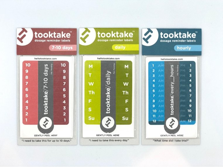 Dosage Reminder Labels by tooktake - 9