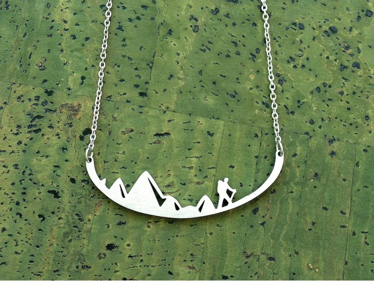 Nature-Inspired Silhouette Necklace by Close 2 UR Heart - 2