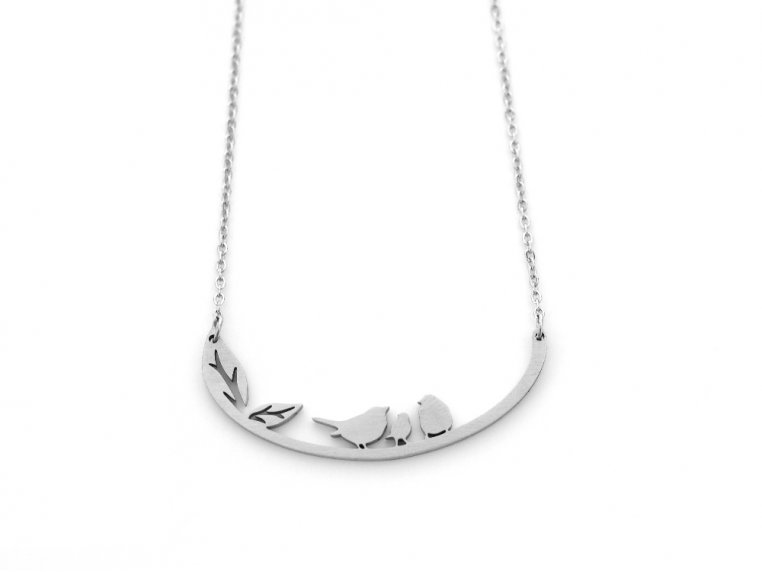 Nature-Inspired Silhouette Necklace by Close 2 UR Heart - 7