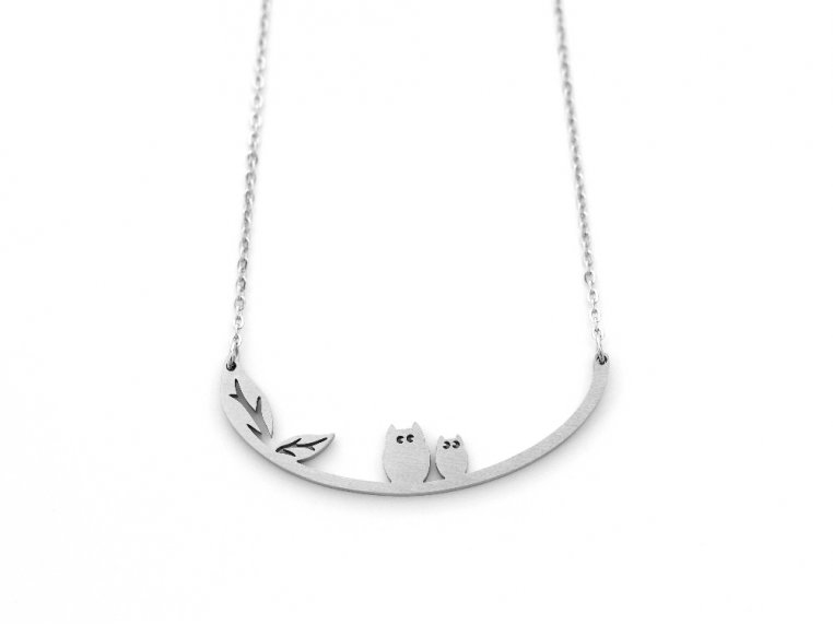 Nature-Inspired Silhouette Necklace by Close 2 UR Heart - 8