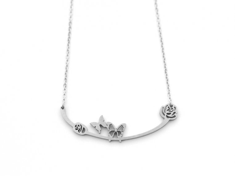 Nature-Inspired Silhouette Necklace by Close 2 UR Heart - 9