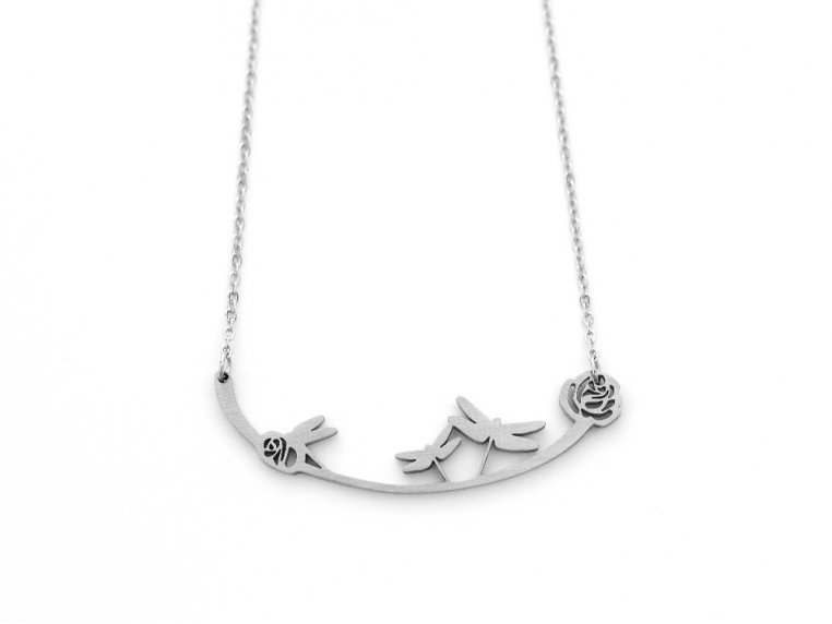 Nature-Inspired Silhouette Necklace by Close 2 UR Heart - 10
