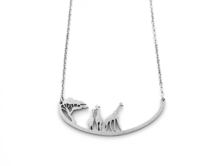 Nature-Inspired Silhouette Necklace by Close 2 UR Heart - 12