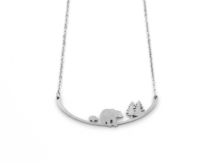 Nature-Inspired Silhouette Necklace by Close 2 UR Heart - 13