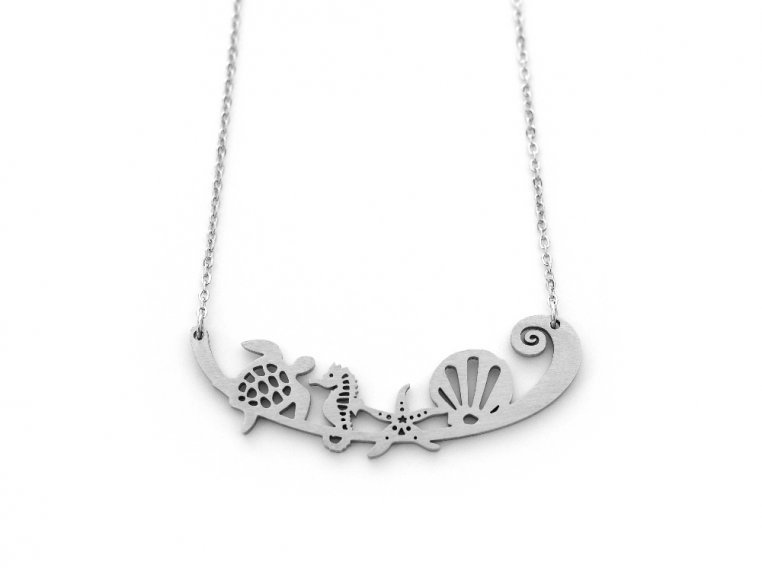 Nature-Inspired Silhouette Necklace by Close 2 UR Heart - 16