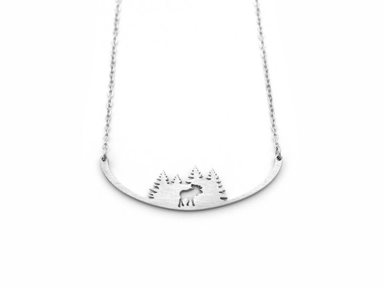 Nature-Inspired Silhouette Necklace by Close 2 UR Heart - 19