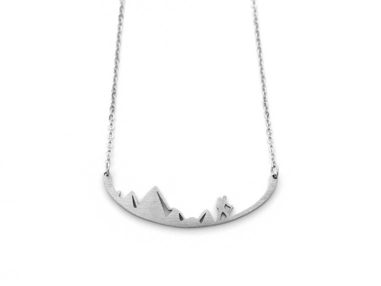 Nature-Inspired Silhouette Necklace by Close 2 UR Heart - 21