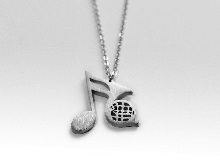 Music-Inspired Silhouette Necklace by Close 2 UR Heart - 8