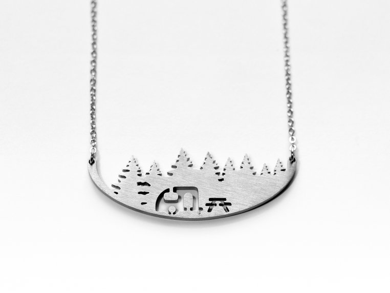 Outdoor Activities-Inspired Necklace by Close 2 UR Heart - 8