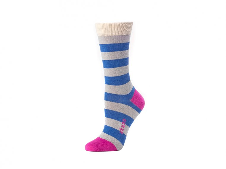 Women's Crew Socks by Zkano - 1
