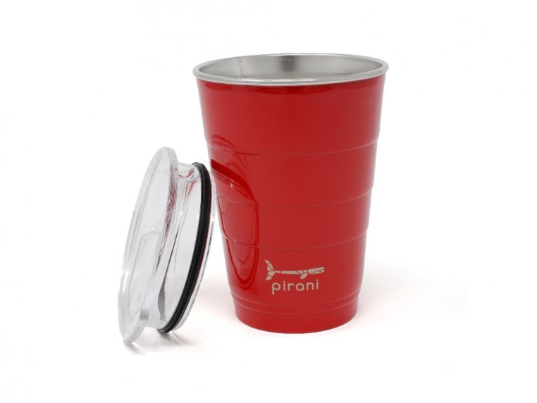 Reusable Party Cup with Lid by Pirani Life - 5