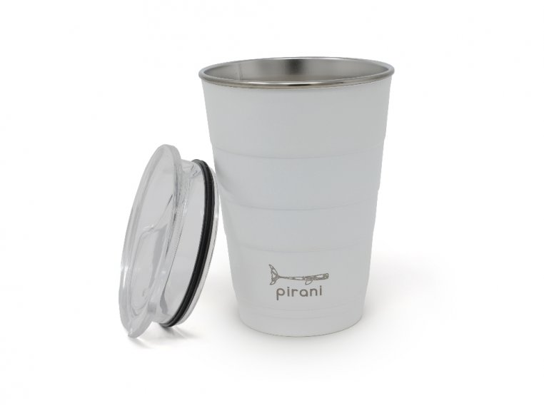 Reusable Party Cup with Lid by Pirani Life - 6