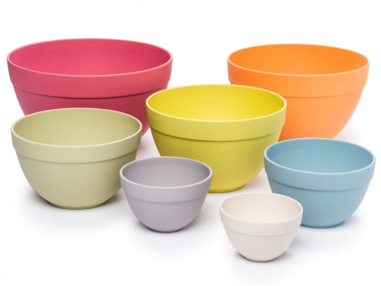Seven Piece Bamboo Nesting Bowls by Bamboozle Home - 2