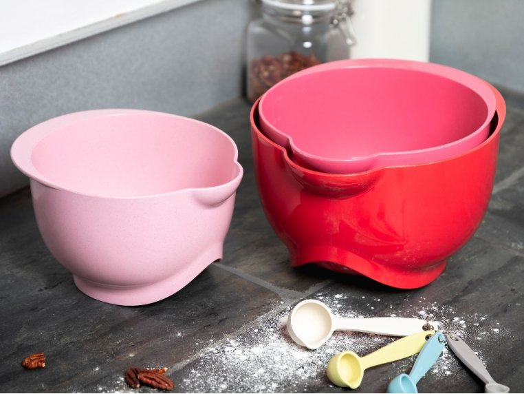Biodegradable Plastic Mixing Bowls by Bamboozle Home - 1