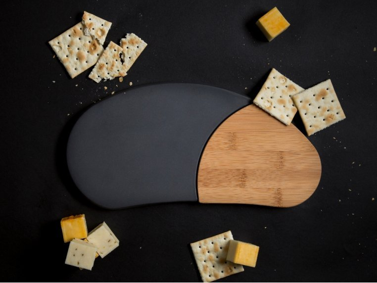 Bamboo Cheese Board by Bamboozle Home - 2