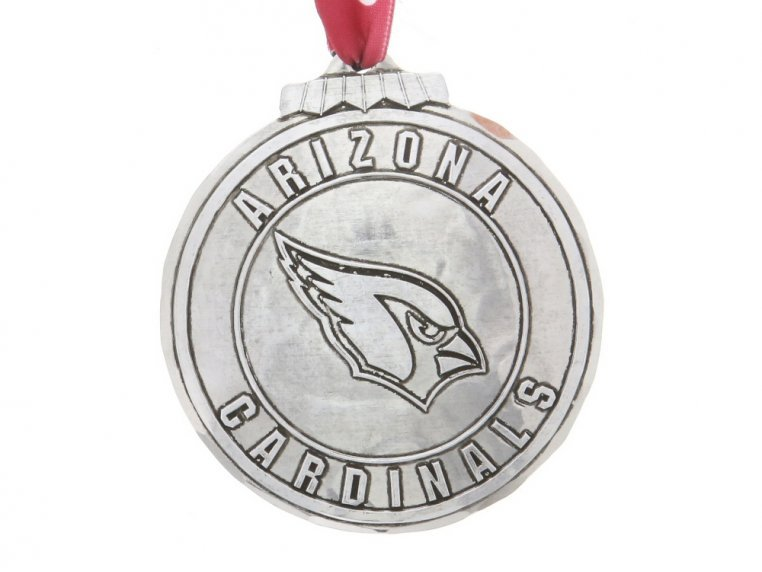 Aluminum NFL Ornament by Wendell August - 4
