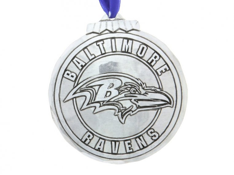 Aluminum NFL Ornament by Wendell August - 6
