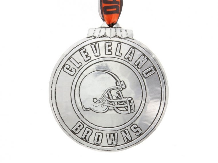 Aluminum NFL Ornament by Wendell August - 11