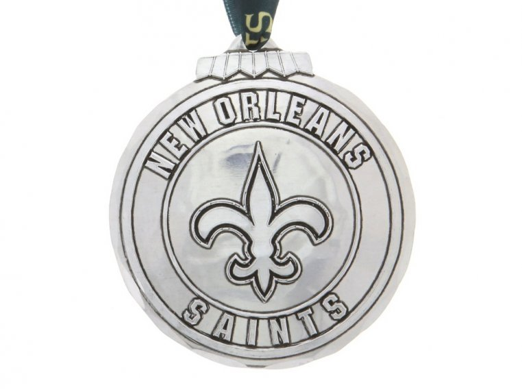 Aluminum NFL Ornament by Wendell August - 25