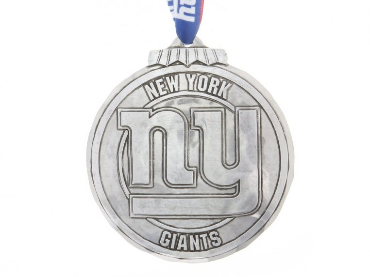 Aluminum NFL Ornament by Wendell August - 26