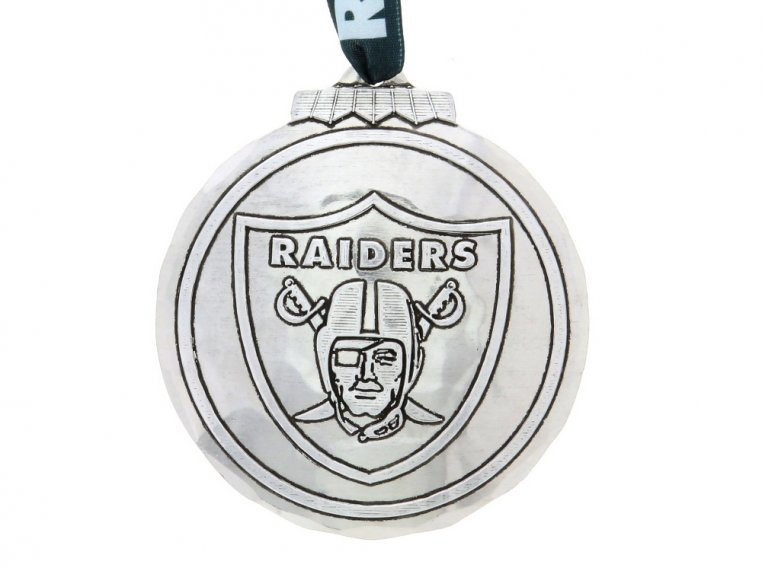 Aluminum NFL Ornament by Wendell August - 27