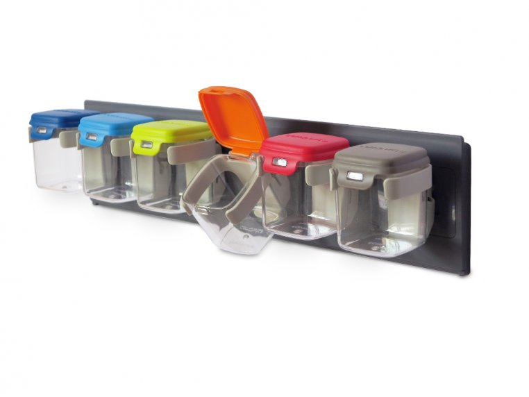 Wall-Mounted Storage Containers by MOBINs™ - 4