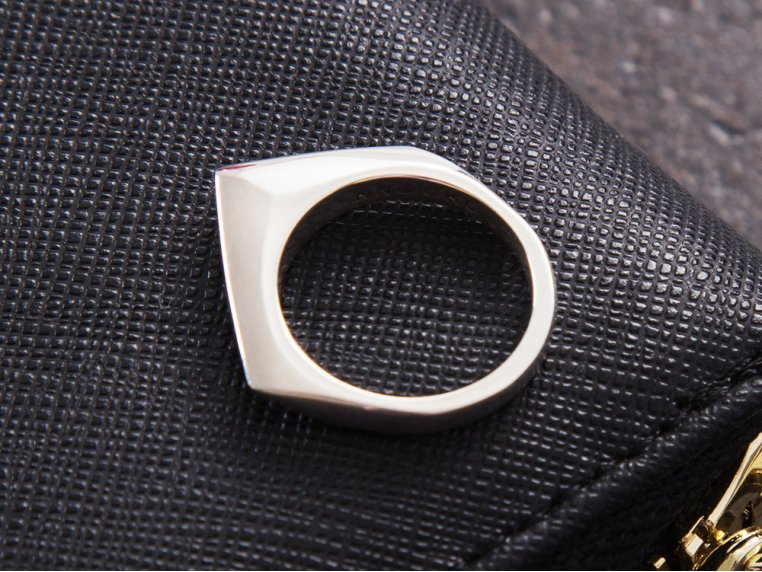 Sterling Silver Self Defense Ring by Knockout - 2