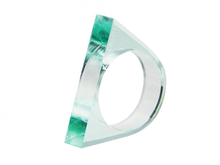 Lucite Self Defense Ring by Knockout - 4