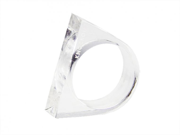 Lucite Self Defense Ring by Knockout - 6