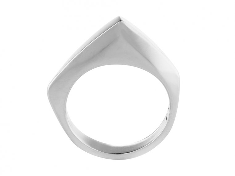 Sterling Silver Self Defense Ring by Knockout - 5