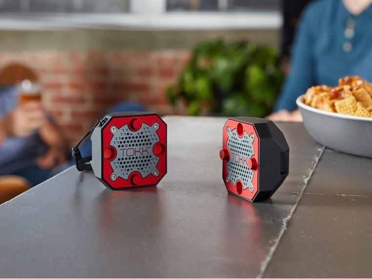 Compact Bluetooth Stereo Speakers by TOKK™ - 1