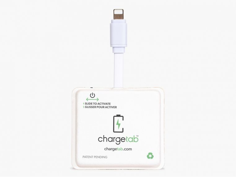 Single-Use Emergency Phone Charger by Chargetab™ - 2