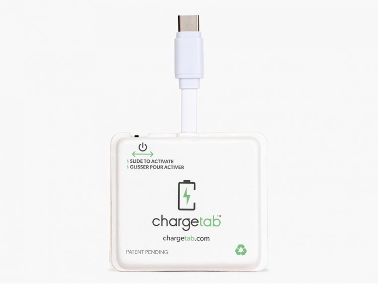 Single-Use Emergency Phone Charger by Chargetab™ - 3