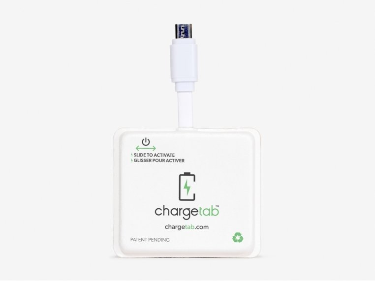 Single-Use Emergency Phone Charger by Chargetab™ - 4