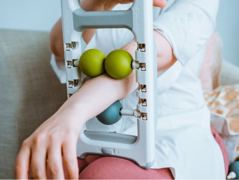 The Abacus® Hand & Arm Massager by Gelliflex® - 1