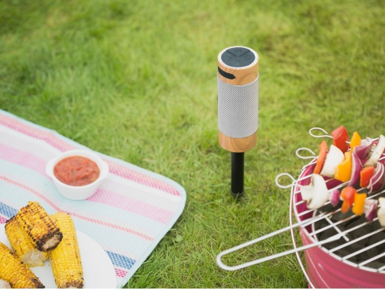 Outdoor Freestanding Bluetooth Speaker by KitSound - 1