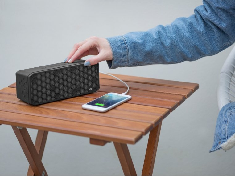Water-Resistant Bluetooth Speaker by KitSound - 2