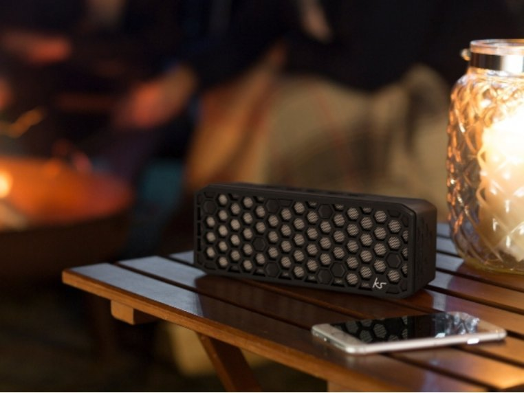 Water-Resistant Bluetooth Speaker by KitSound - 1
