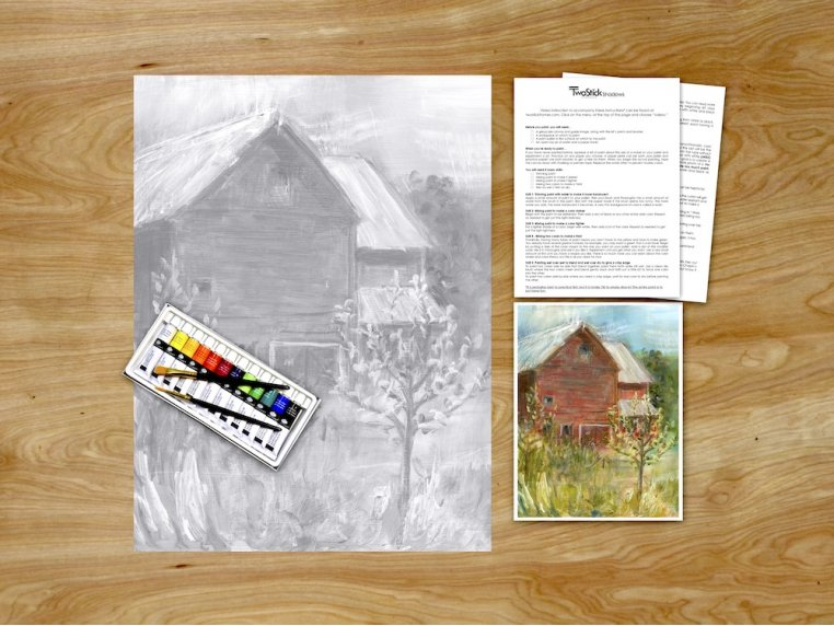 Masterpiece Paint Kit by Chirpwood Shadows - 1