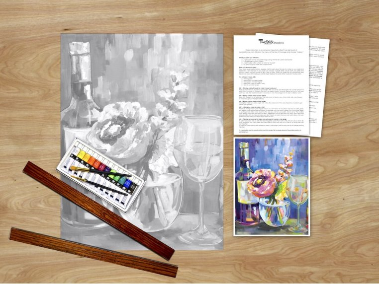 Masterpiece Paint Kit by Chirpwood Shadows - 6