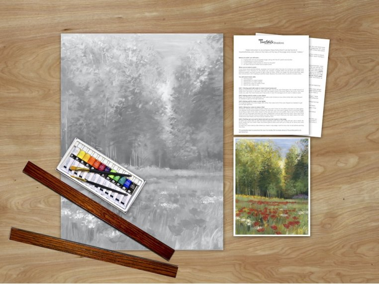 Masterpiece Paint Kit by Chirpwood Shadows - 8