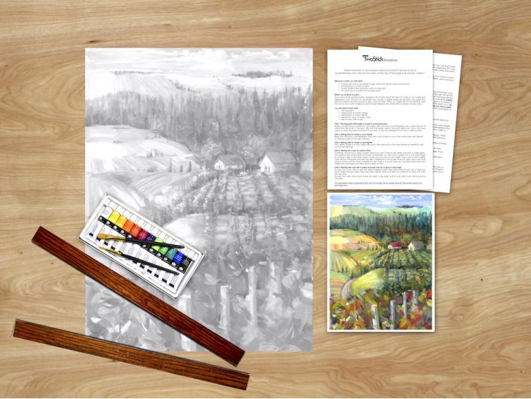Masterpiece Paint Kit by Chirpwood Shadows - 25