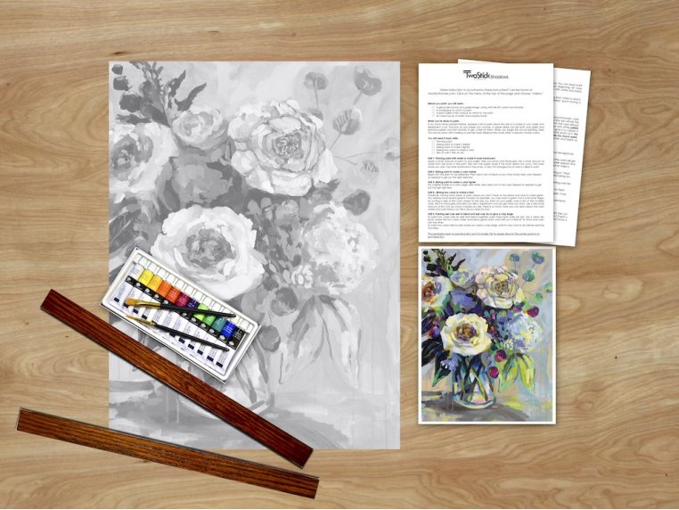 Masterpiece Paint Kit by Chirpwood Shadows - 11
