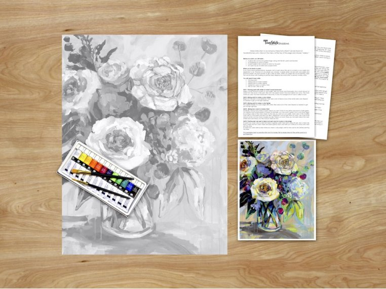 Masterpiece Paint Kit by Chirpwood Shadows - 12
