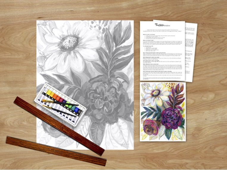 Masterpiece Paint Kit by Chirpwood Shadows - 13